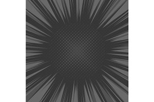 Comic Explosion Radial Background