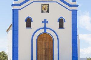 Small church in Huelva, Spain