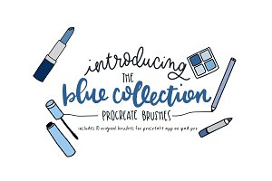 The Blue Collection - Procreate