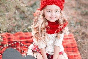Christmas baby girl
