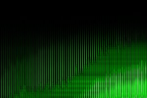 Green neon equalizer illustration backdrop