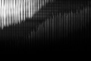 Vertical black and white extruded illustration background