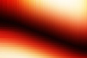 Orange corner light leak illustration background