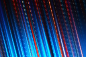 Diagonal cyan and red lines illustration background