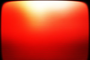 Red retro vintage tv screen monitor background