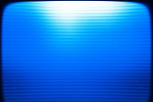 Blue retro vintage tv screen monitor background