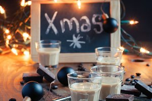 Homemade baileys. Chrismas