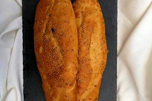 Sweet bread olive oil