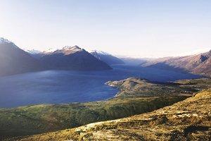 Lake Wakitipu Mountain Range