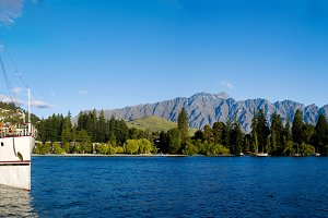 Lake Wakatipu Queenstown New Zealand