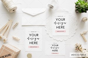 Wedding Invitation Mockup 2
