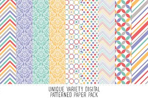 Fresh Pattern Paper Pack
