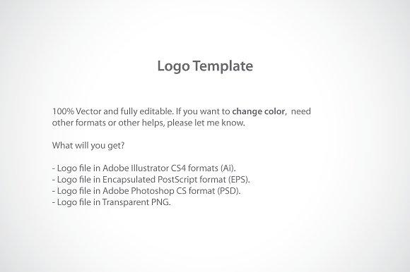 Alphabet n logo template logo templates creative market maxwellsz