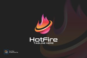 Hot Fire - Logo Template