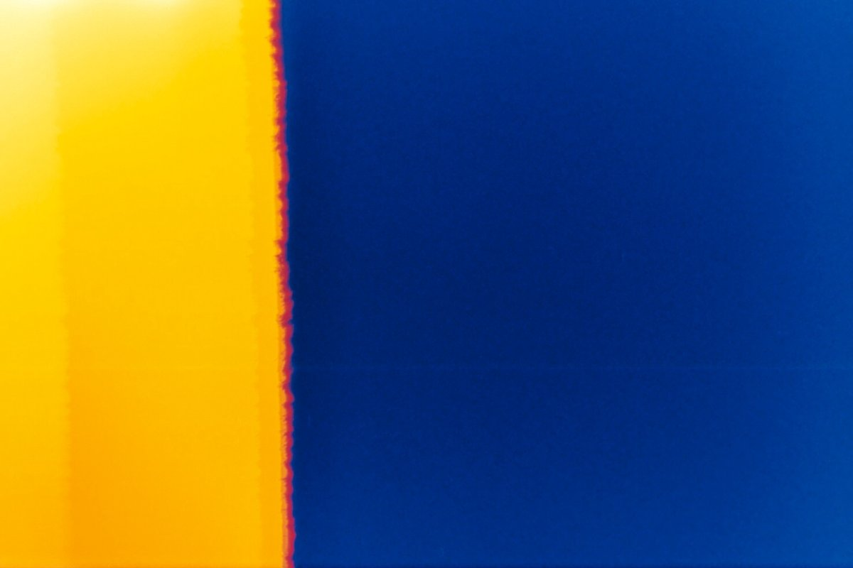 Blue and Yellow Texture
