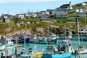 Little fishermen village