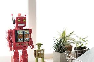 Control Robot Robotic Gadget