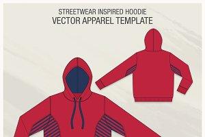 Streetwear Inspired Vector Hoodie