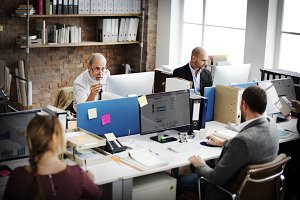 Corporate Achievement Teamwork