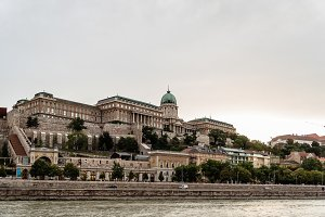 Hungarian National Gallery. It is located  in Buda Castle