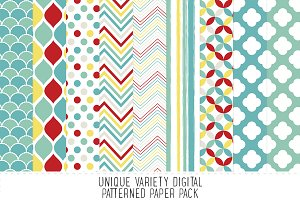 Retro Pattern Paper Pack - 17