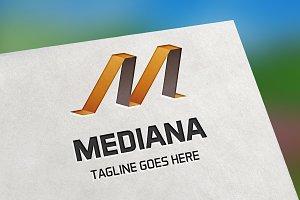 Mediana (Letter M) Logo