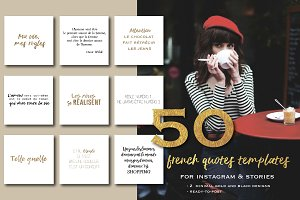 50 french quotes for instagram