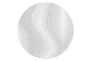 Distress Circular Texture