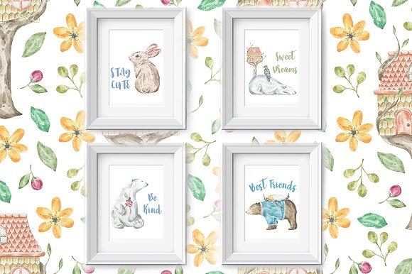 Nursery Art Vol 1 Animal Friends