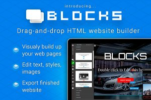 Bootstrap BLOCKS drag-&-drop builder