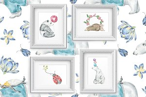 Nursery Art Vol 2: Animal Friends
