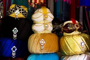 Authentic turban souvenirs