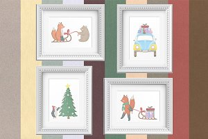 Nursery Art Vol 4: Christmas