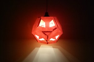 DIY Halloween Pumpkin -3d papercraft