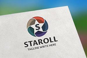 Staroll S Letter Logo