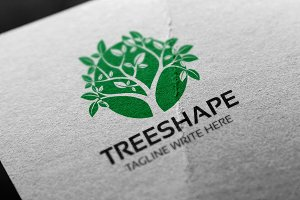 Tree Shape Logo