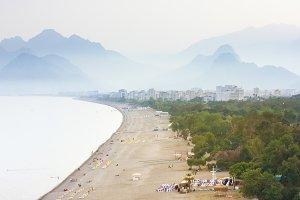 Idyllic seascape view