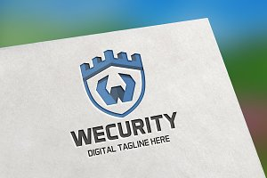 Wecurity Letter W Logo