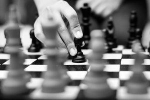 Chess Game Thinking Hobbies