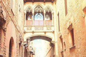 Gotic quarter of Barcelona