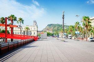 Embankment of Barcelona