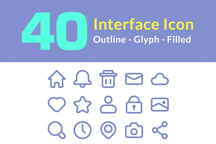 Interface Icon | 40 Icon