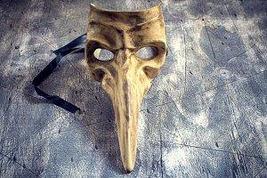 Classical venetian carnival mask