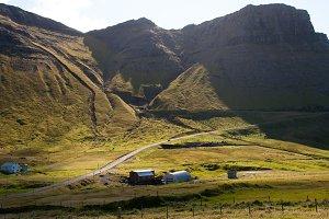 Small Farm and Mountain Rang