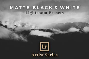 Matte Black &White Lightroom Presets