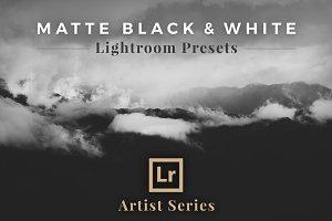 Matte Black &White Lightroom Presets