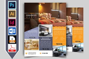 Hotel Flyer Template Vol-01