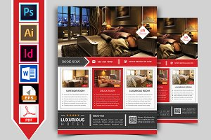 Hotel Flyer Template Vol-02