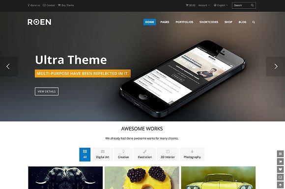 ROEN - Multi-Purpose WordPress Theme