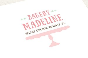 Baking Logo Template Handdrawn